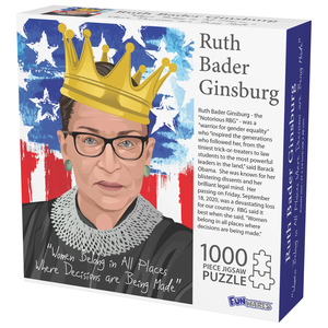 Funwares FW1000 THE NOTORIOUS RBG Jigsaw Puzzle