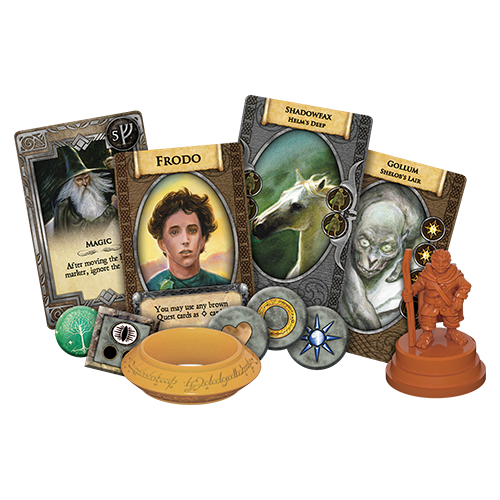 Fantasy Flight Games THE LORD OF THE RINGS: THE BOARD GAME - ANNIVERSARY EDITION