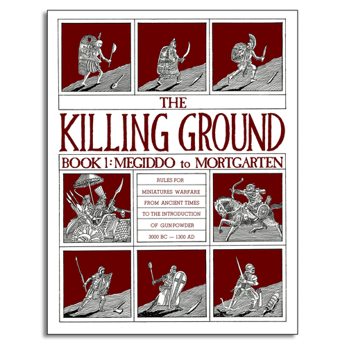 Conflict Simulation Systems THE KILLING GROUND: BOOK 1 (Pub. 1981)