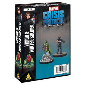 Asmodee MARVEL CRISIS PROTOCOL: VISION & WINTER SOLDIER