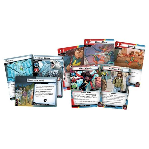 Fantasy Flight Games MARVEL CHAMPIONS LCG: MS. MARVEL HERO PACK