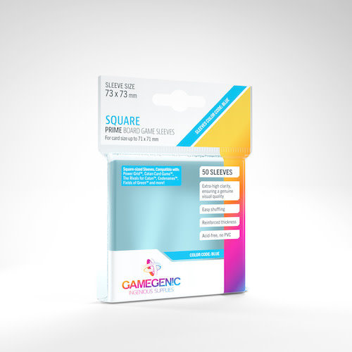 GAMEGENIC DECK PROTECTOR: PRIME - SQUARE SLEEVES (50)