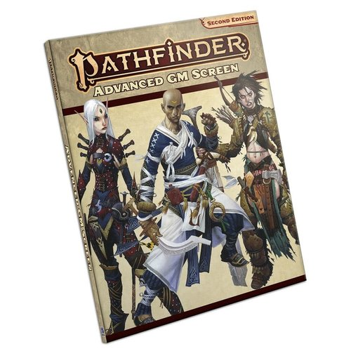 Paizo Publishing PATHFINDER 2ND EDITION: GM SCREEN