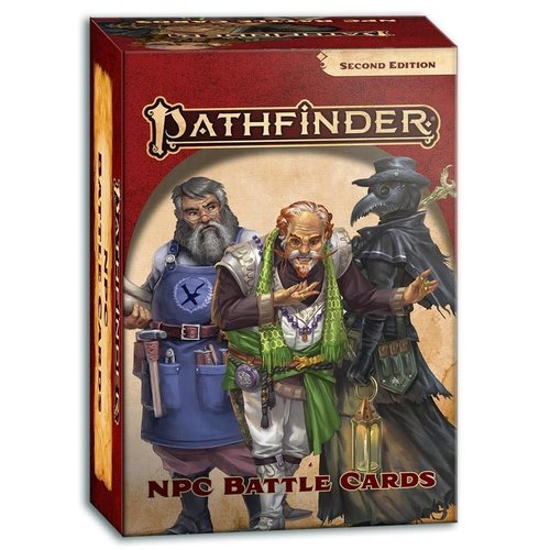 Paizo Publishing PATHFINDER 2ND EDITION: NPC BATTLE CARDS