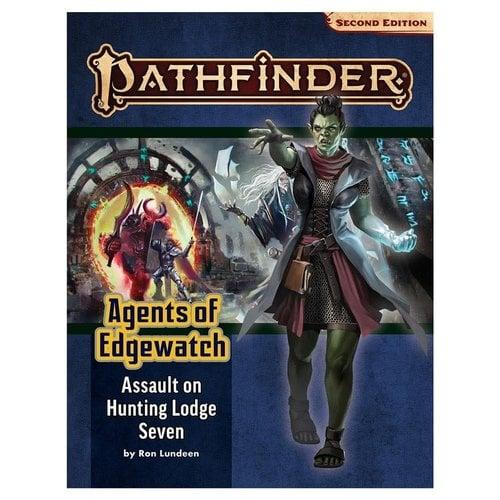 Paizo Publishing PATHFINDER 2ND EDITION: ADVENTURE PATH: AGENTS OF EDGEWATCH 4 - ASSAULT ON HUNTING LODGE SEVEN