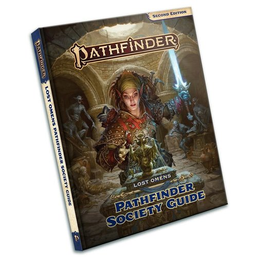 Paizo Publishing PATHFINDER 2ND EDITION: LOST OMENS - PATHFINDER SOCIETY GUIDE