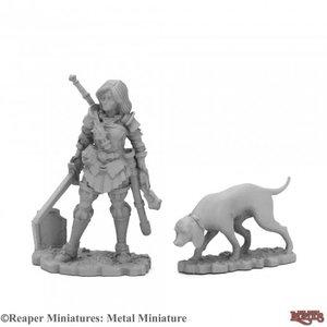 Reaper Miniatures REAPERCON: DUSKWARDEN & HOUND