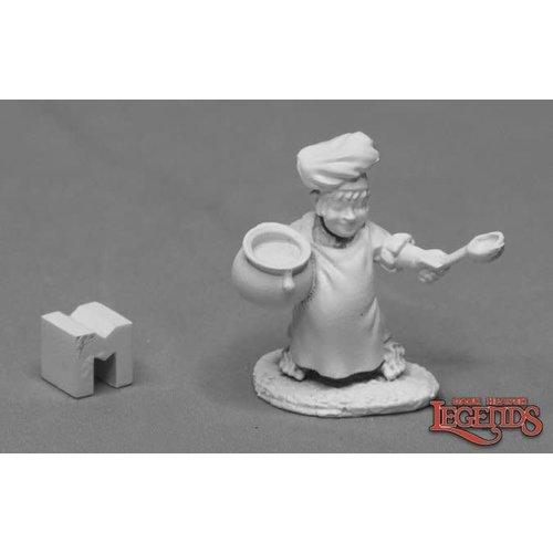 Reaper Miniatures PUDGIN PANFLOUR HALFLING COOK