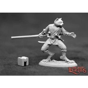 Reaper Miniatures SWIFTPAW: CATFOLK MONK