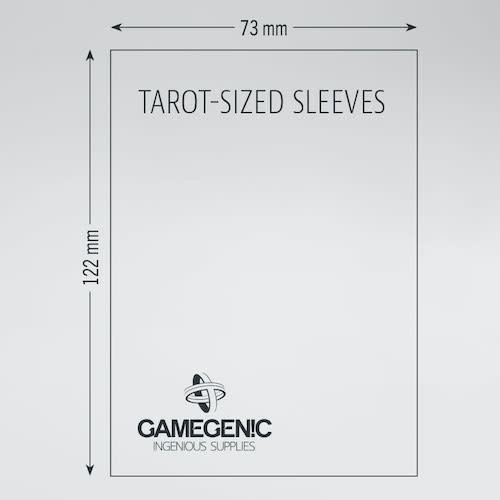 GAMEGENIC DECK PROTECTOR: PRIME - TAROT SLEEVES (50)