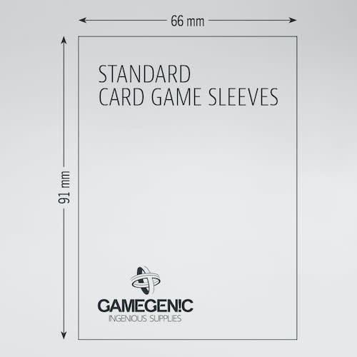 GAMEGENIC DECK PROTECTOR: PRIME - VALUE PACK - STANDARD CARD GAME SLEEVES (200)