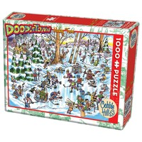 CH1000 DOODLETOWN - HOCKEY TOWN