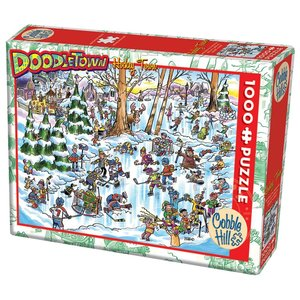 Cobble Hill CH1000 DOODLETOWN - HOCKEY TOWN