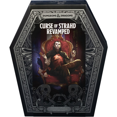 Wizards of the Coast D&D 5E: CURSE OF STRAHD REVAMPED