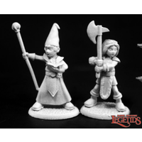 TOWNSFOLK KIDS 1: WIZARD & BARBARIAN