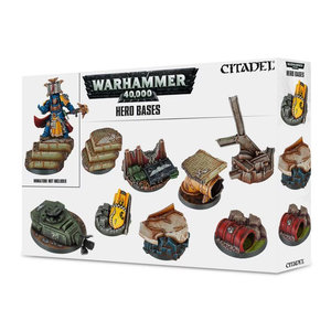 Games Workshop CITADEL 40K HERO BASES