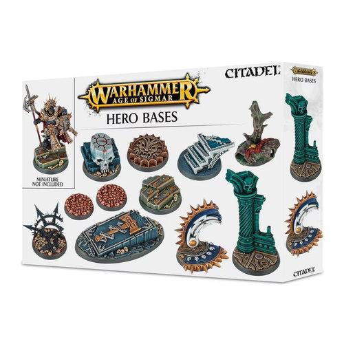 Games Workshop CITADEL AoS HERO BASES