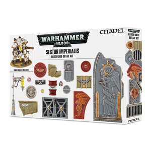 Games Workshop 40K SECTOR IMPERIALIS: LARGE BASE DETAIL KIT