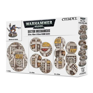Games Workshop 40K SECTOR MECHANICUS: INDUSTRIAL BASES