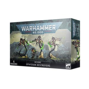 Games Workshop NECRONS OPHYDIAN DESTROYERS