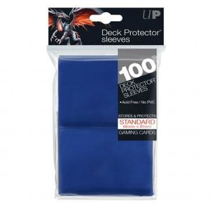 Ultra Pro International DECK PROTECTOR: SOLID BLUE (100)