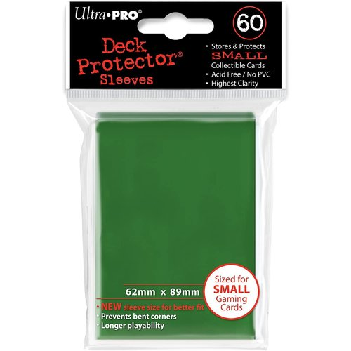 Ultra Pro International DECK PROTECTOR: YUGIOH: GREEN (60)