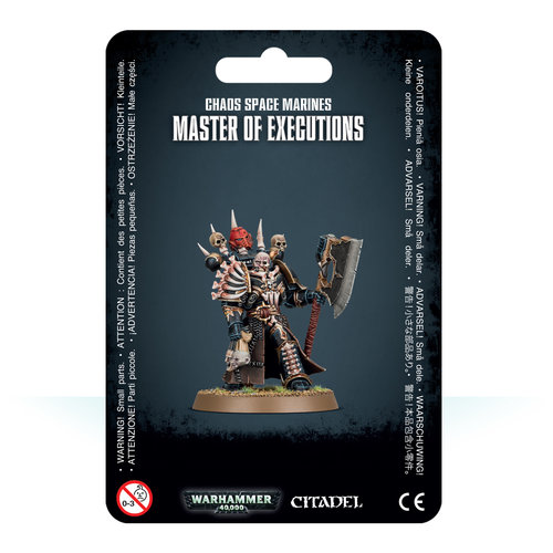 Games Workshop CSM MASTER OF EXECUTIONS