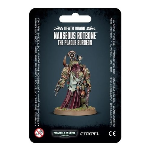 Games Workshop DEATH GUARD NAUSEOUS ROTBONE, PLAGUE SURGEON