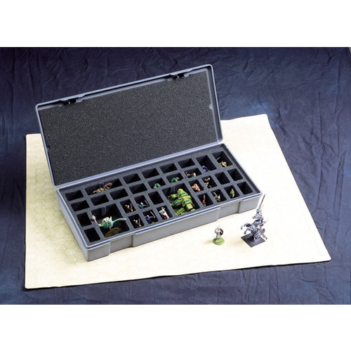 Chessex FIGURE STORAGE BOX LARGE (40 Capacity)