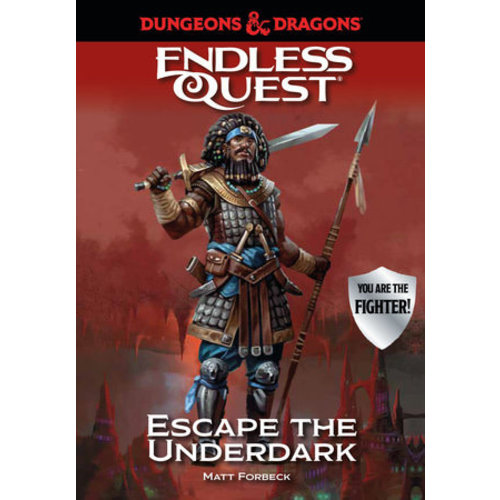 PENGUIN RANDOM HOUSE D&D ENDLESS QUEST: ESCAPE THE UNDERDARK (SOFTCOVER)