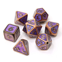 MYTHICA DICE SET 7 DREAMSCAPE LARKSPUR