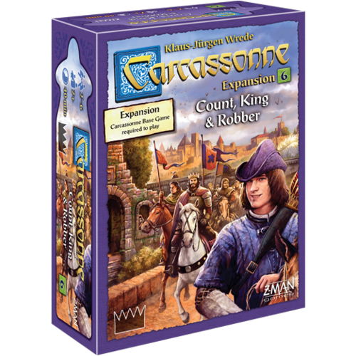 Z-Man Games CARCASSONNE: COUNT, KING & ROBBER