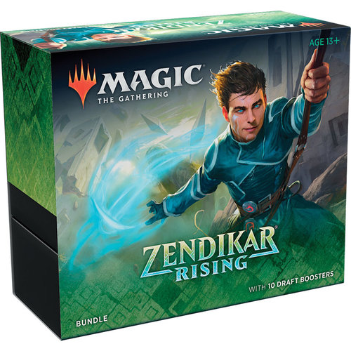 Wizards of the Coast MTG: ZENDIKAR RISING - BUNDLE