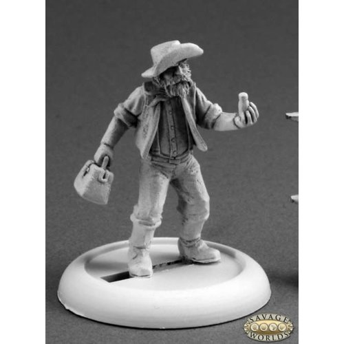 Reaper Miniatures SAVAGE WORLDS: COOT JENKINS, PROSPECTOR