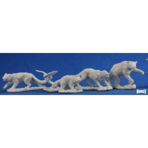 Reaper Miniatures BONES: ANIMAL COMPANIONS