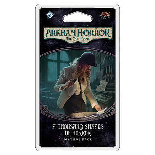 Fantasy Flight Games ARKHAM HORROR LCG: A THOUSAND SHAPES OF HORROR MYTHOS PACK