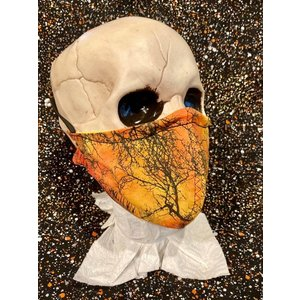 OTHER TIMES PRODUCTIONS PROTECTIVE MASK, FABRIC (HALLOWEEN)
