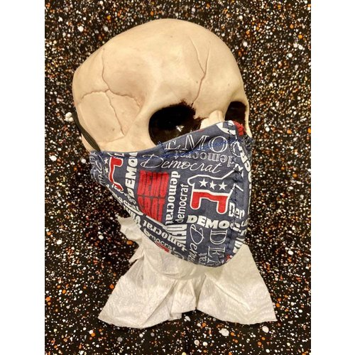 OTHER TIMES PRODUCTIONS PROTECTIVE MASK, FABRIC (POLITICS, ASSORTED)