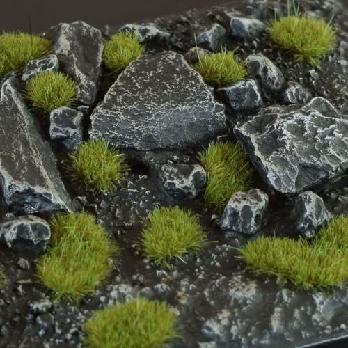 Gamers Grass GAMERS GRASS: DRY GREEN WILD TUFTS (2mm)