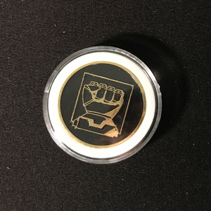Catalyst Game Labs BATTLETECH: CHALLENGE COIN - HOUSE STEINER