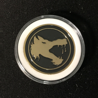 BATTLETECH: CHALLENGE COIN - WOLF'S DRAGOONS