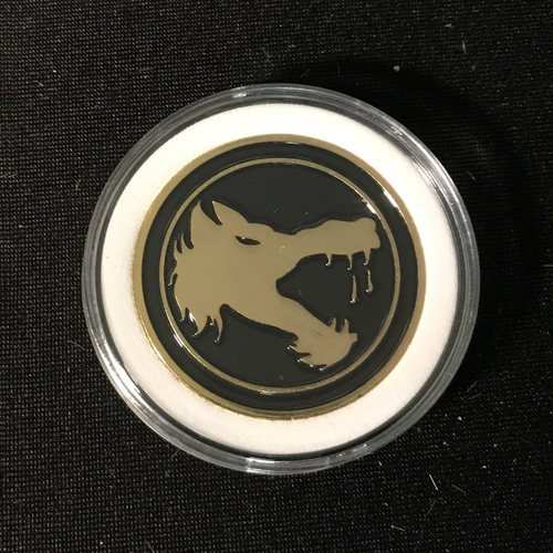 Catalyst Game Labs BATTLETECH: CHALLENGE COIN - WOLF'S DRAGOONS