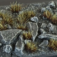GAMERS GRASS: BURNED WILD TUFTS (6mm)