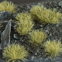 GAMERS GRASS: LIGHT BROWN WILD TUFTS (6mm)