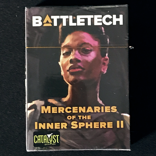 Catalyst Game Labs BATTLETECH: MECHWARRIOR PILOT DECK - MERCENARIES OF THE INNER SPHERE II