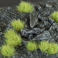 GAMERS GRASS: LIGHT GREEN WILD TUFTS (6mm)