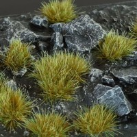 GAMERS GRASS: MIXED GREEN WILD TUFTS (6mm)