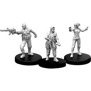 Monster Fight Club MINIS: CYBERPUNK RED: EDGERUNNERS A - SOLO, TECH, AND NETRUNNER