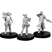 MINIS: CYBERPUNK RED: EDGERUNNERS B - TECH, NOMAD AND FIXER