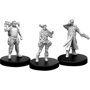 Monster Fight Club MINIS: CYBERPUNK RED: EDGERUNNERS B - TECH, NOMAD AND FIXER